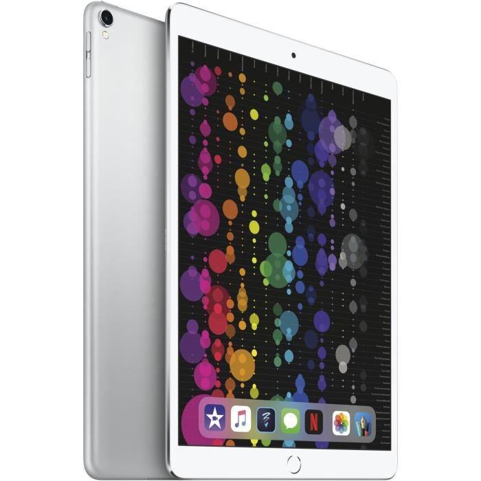 APPLE  iPad Pro  - 10,5'' - Stockage 512Go - WiFi - MPGJ2NF/A - Argent - Nouveauté