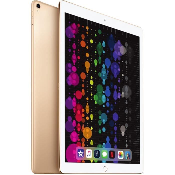 """APPLE iPad Pro - 12,9"""" - Stockage 512Go - WiFi - MPL12NF/A - Or - NouveautéTABLETTE TACTILE"""