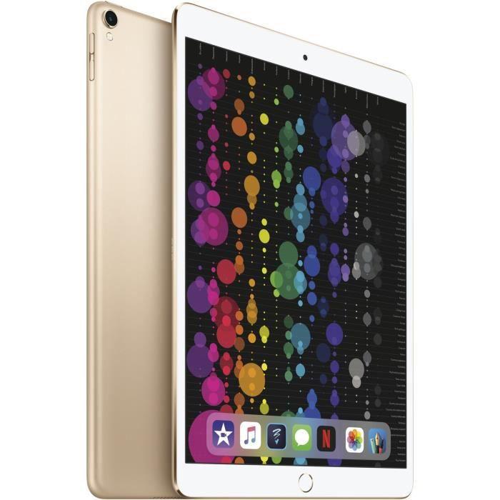 """APPLE iPad Pro - 10,5"""" - Stockage 512Go - WiFi/4G - MPMG2NF/A - Or - NouveautéTABLETTE TACTILE"""