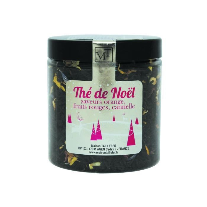 MAISON TAILLEFER Thé Noir de Noël Pot 60g
