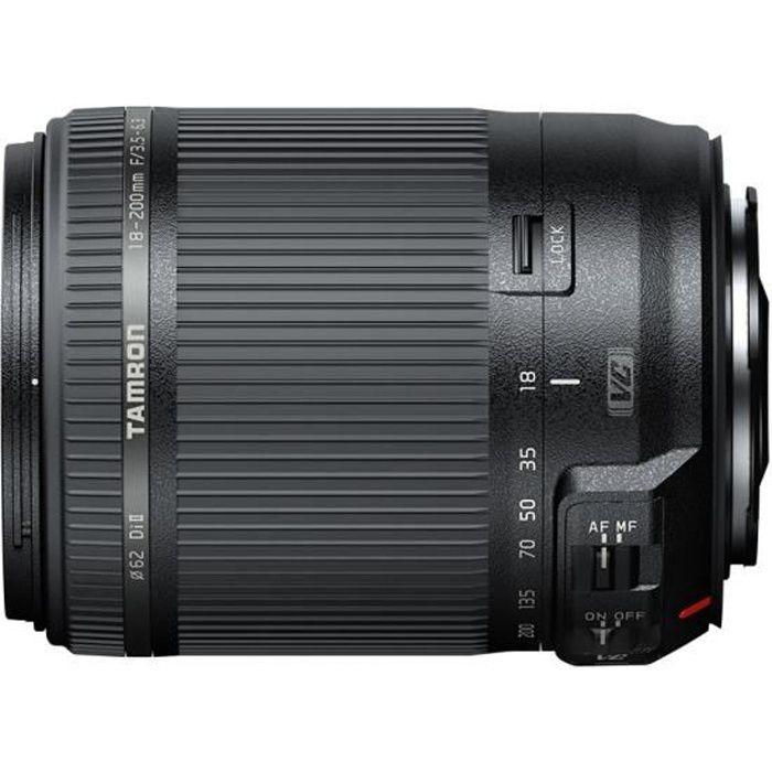 TAMRON 18-200 mm F/3.5-6.3 Di II VC Canon - Pour appareil photo numérique Reflex