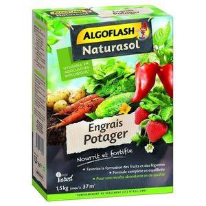 ALGOFLASH NATURASOL Engrais Potager - 1,5 kg