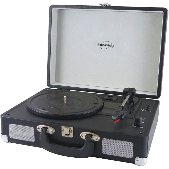 INOVALEY RETRO20 Chaine retro tourne disque avec encodage USB et Bluetooth