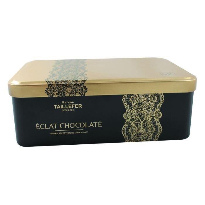 MAISON TAILLEFER Coffret Métal Eclat Chocolaté 270g