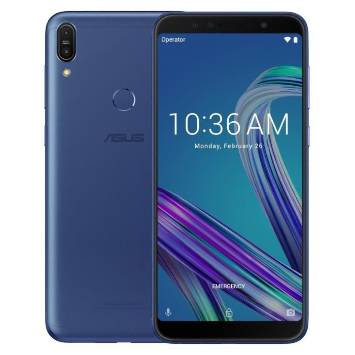 ASUS Zenfone Max Pro M1 64Go Space Blue