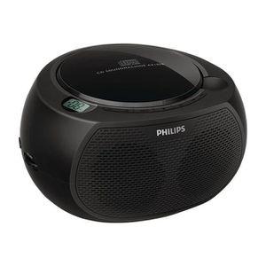 PHILIPS AZ100B Lecteur CD - Noir