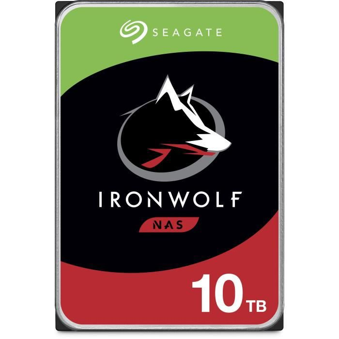 Seagate NAS HDD Iron Wolf 10To 3,5