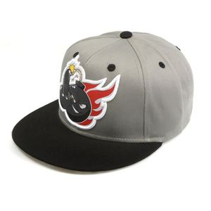 WTF Casquette Homme Bombe - Gris