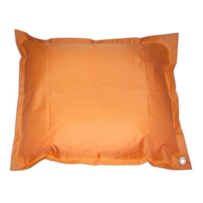 Coussin Pouf imperméable de piscine pool bag XXL 140 x180 cm Orange