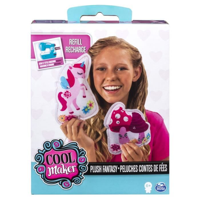 SEW COOL Recharge Personnages Sew Cool - Licorne