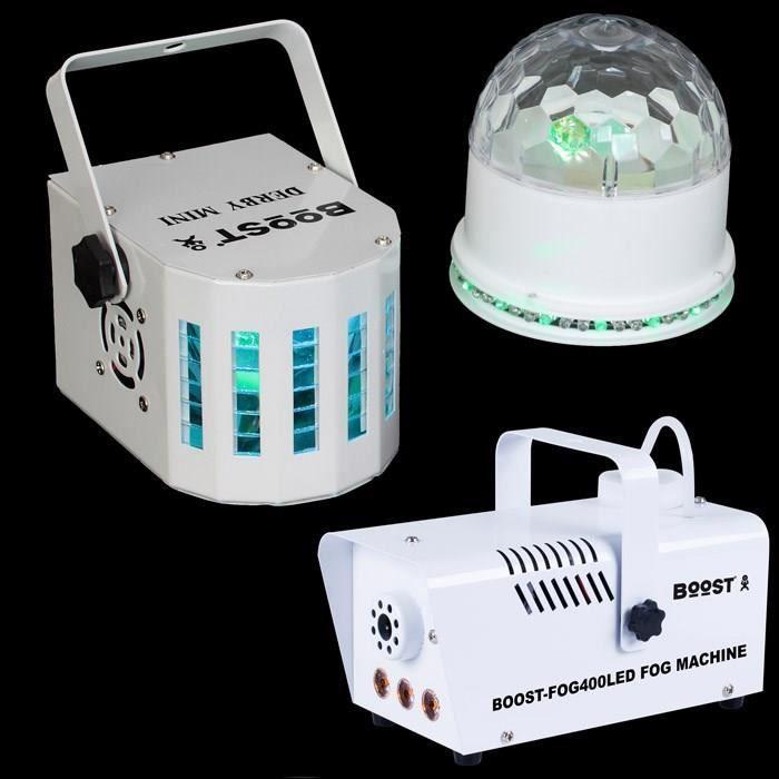 BOOST COLORS SHOW Ensemble jeux de lumière 5 effets