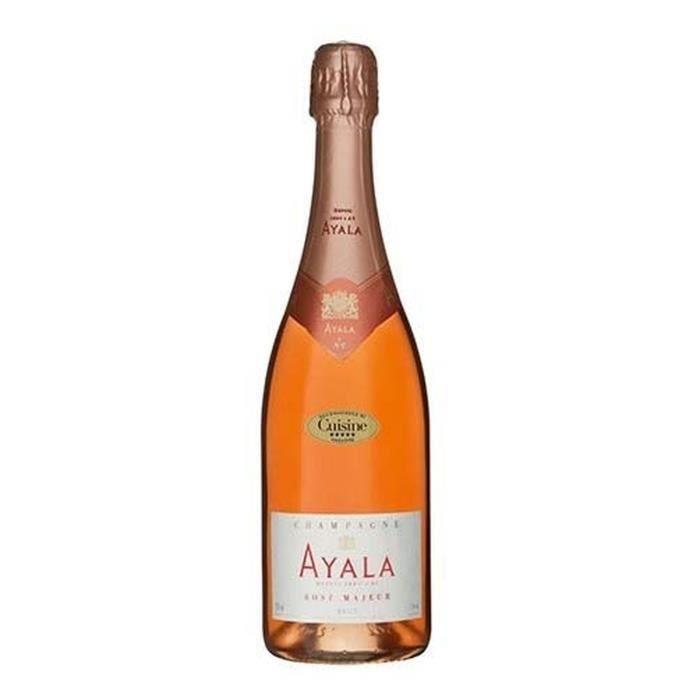 Champagne ayala rosé x1