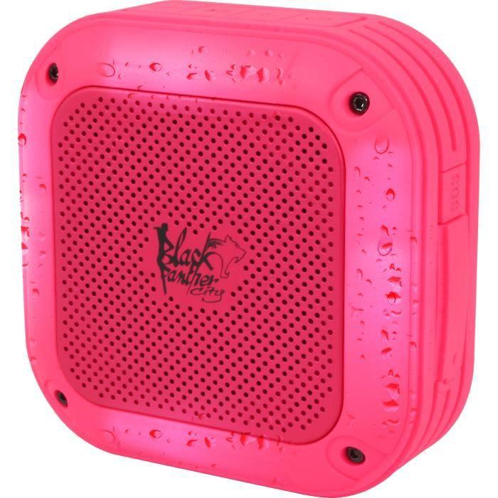 Enceinte nomade Bluetooth Sport Waterproof - Puissance sonore 3W (RMS) - Technologie sans fil BT 2.1+EDRENCEINTE NOMADE - HAUT-PARLEUR NOMADE - ENCEINTE PORTABLE - ENCEINTE MOBILE - ENCEINTE BLUETOOTH - HAUT-PARLEUR BLUETOOTH