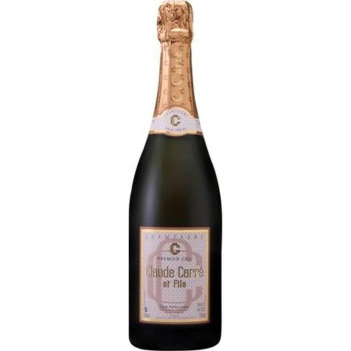 Claude carrÉ 1er cru champagne brut rosé 75 cl