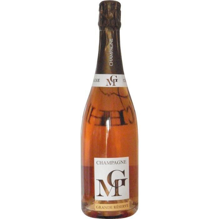 Michel gonet champagne brut rosé 75 cl