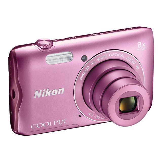 NIKON COOLPIX A300Appareil photo numérique compacte - Rose