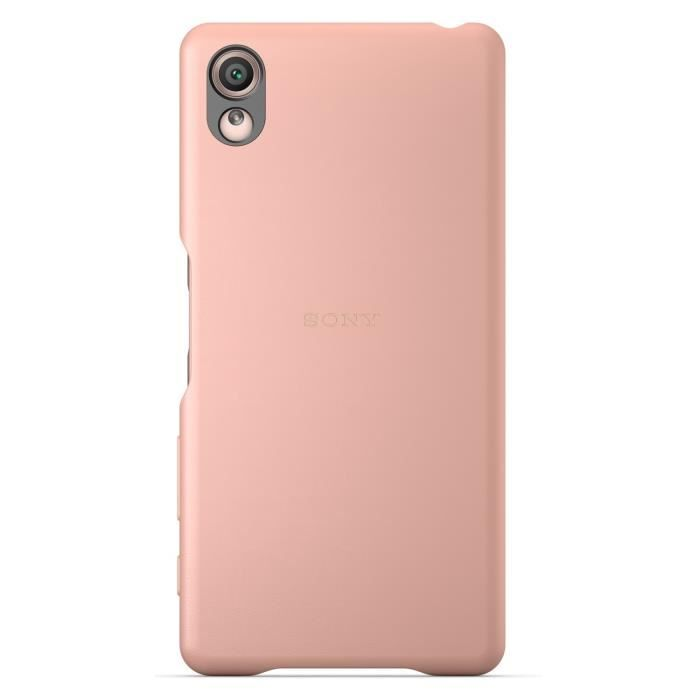 Sony Back Cover pour Xperia X Rose