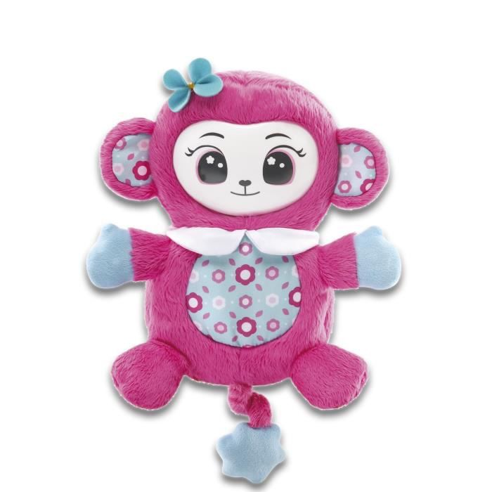 VTECH - Monki Pop - Singe Interactif - Rose