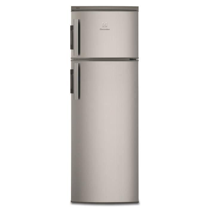 ELECTROLUX EJ2801AOX2 - Réfrigérateur congélateur haut - 265L (215+50) - Froid statique - A+ - L 54,
