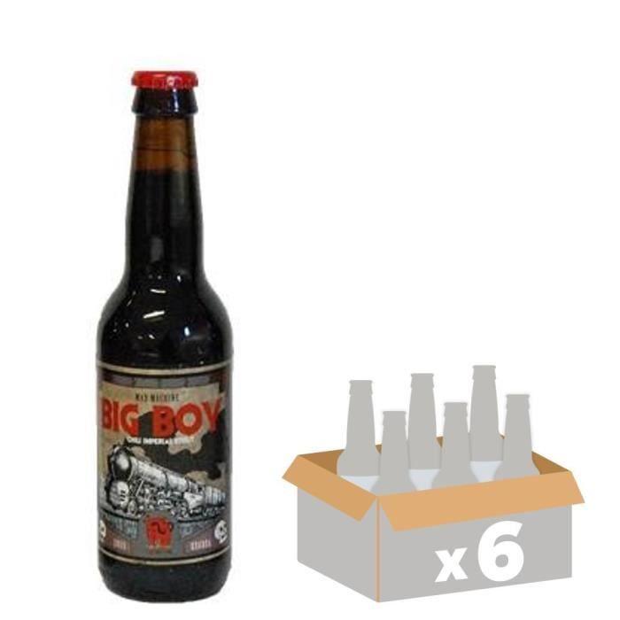 LA DEBAUCHE Bière Big Boy - 33 cl x6 - 12 %