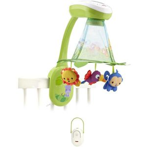FISHER-PRICE - Mobile Feuilles Magiques Jungle