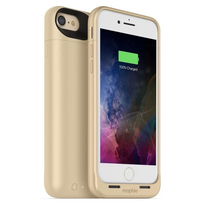 Mophie Juice Pack Air 2525 mAh Case for iPhone 7 Gold