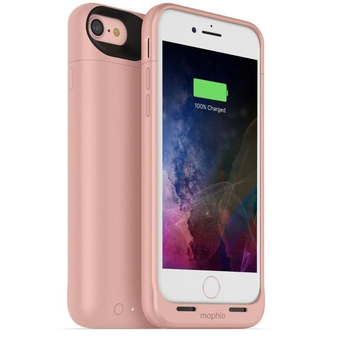 Mophie Juice Pack Air 2525 mAh Case for iPhone 7 Rosegold