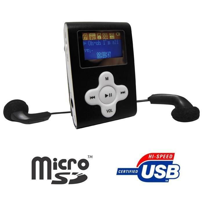 OCEANIC MPB4 Lecteur MP3 USB SD noir