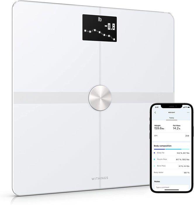 NOKIA Balance connectée Body Plus- analyse de la composition corporelle - Blanc
