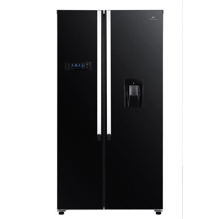 CONT EDISON CERA518APPDB Réfrigérateur américain 518L - Total No Frost - affichage électronique - A+
