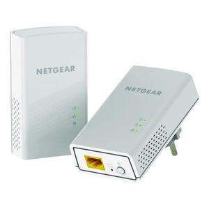 NETGEAR Pack de 2 Adaptateurs CPL 1200 Mbps Blanc. Mod?le PL1200-100PES