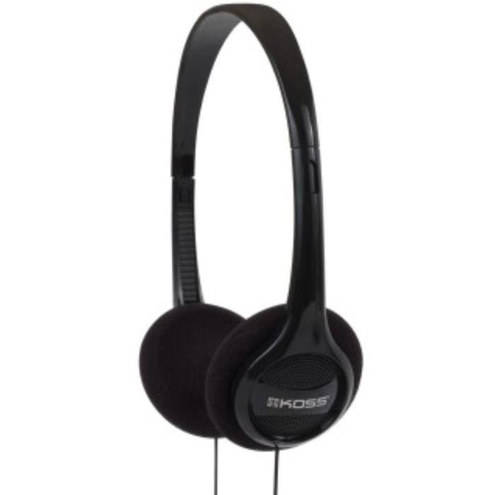 KOSS Casque stéréo On-Ear KPH7 - Noir