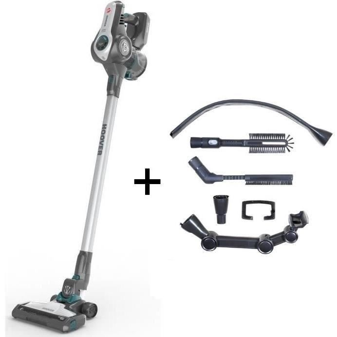 HOOVER RA22AFG Aspirateur balai multifonction + Kit accessoires RAKIT