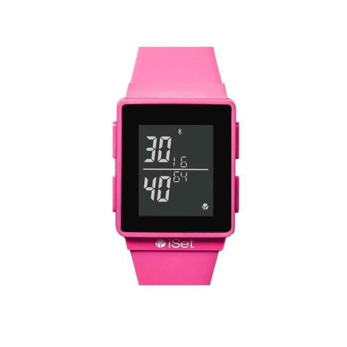 ISETWATCH Montre Connectée Tennis Femme