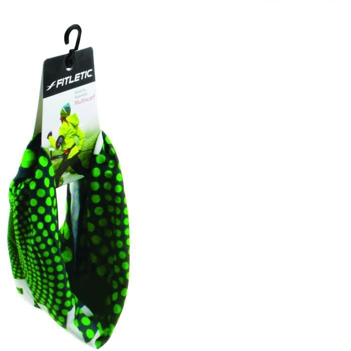 FITLETIC Bandeau Multiscarf - Vert pois