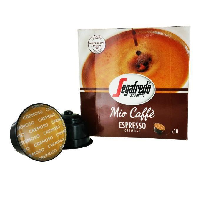 MIO CAFFE Capsules Espresso - Par 10 - Compatible Dolce Gusto
