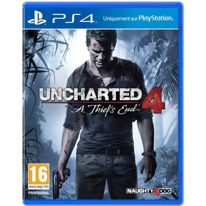 Uncharted 4 : A Thief's End Jeu PS4