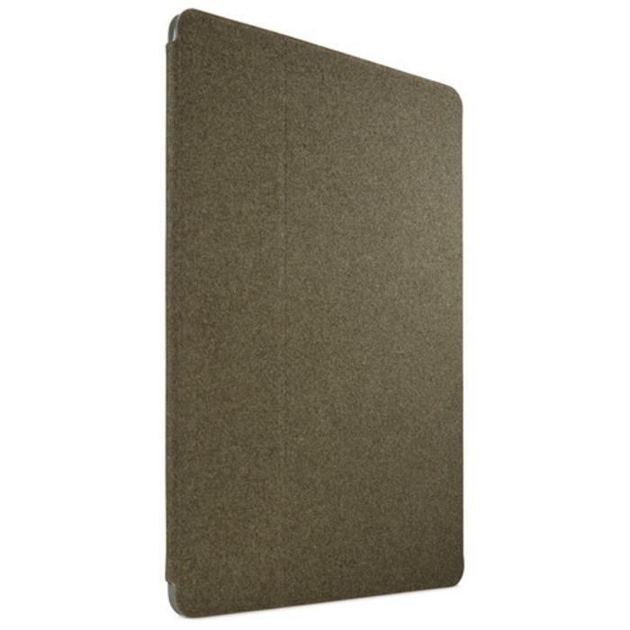 Case Logic - CSIE2241PTG - Portefolio dédié pour iPad Pro en polycarbonate pétrolgreen