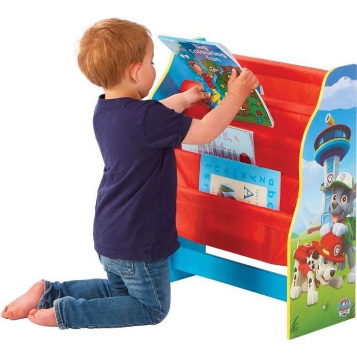 PAT PATROUILLE Bibliothèque à Pochettes Pour Enfants