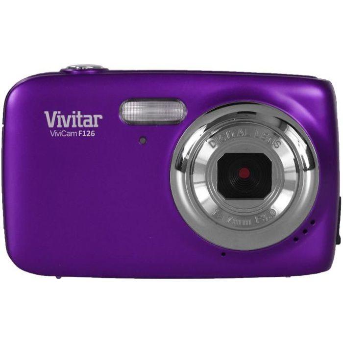 VIVITAR VS126 Violet - 16 Mégapixels écran 1,8\
