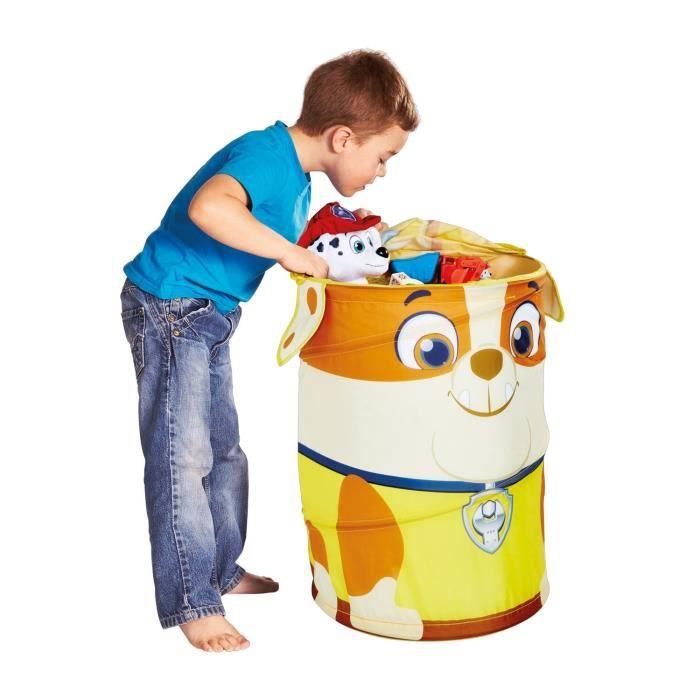 PAT PATROUILLE sac / bac souple de Rangement chambre enfant ReadyRoom