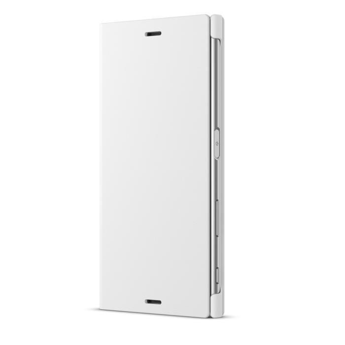 Sony Coque Stand pour Xperia X Compact Blanc