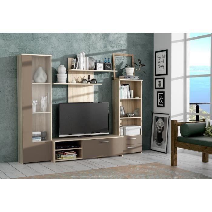 Meuble tv finlandek vente discount for Finlandek meuble tv mural katso 160cm blanc et noir