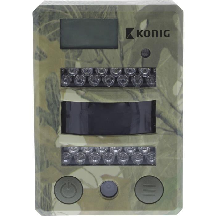 KONIG SAS-DVRODR05 Caméra de camouflage pour la faune 8 Mégapixels