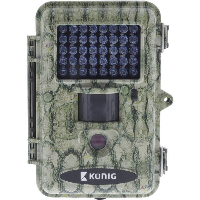 KONIG SAS-DVRODR22 Caméra de camouflage pour la faune 12.0 Mégapixels