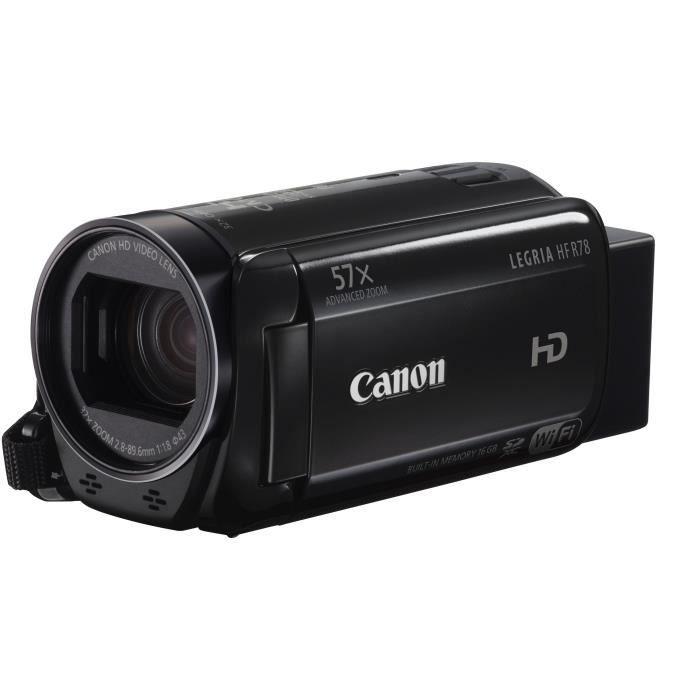 Caméscope numérique Full HD - WiFi - Zoom avancé 57x - Stabilisateur d'image intelligentCAMESCOPE NUMERIQUE