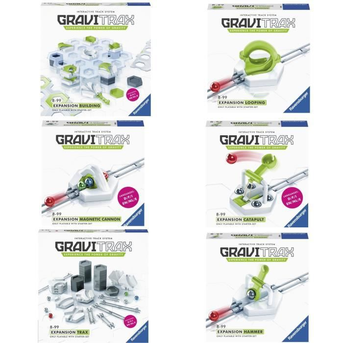 GRAVITRAX Pack de 6 extensions