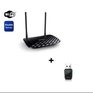 TPLINK ROUTEUR AC750 DUALBAND +CLE USB (ArcherT2U)