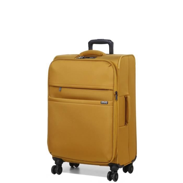 JUMP - ODDA Valise 4 Roues 65 cm Moutarde