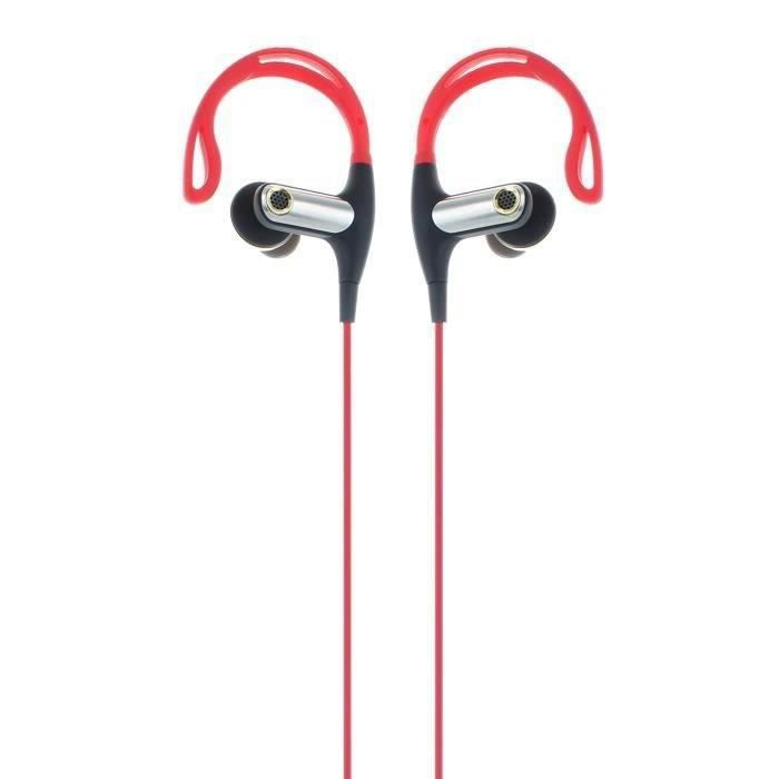 R-MUSIC Endurance BT - Ecouteurs Intra-auriculaires Bluetooth - Rouge